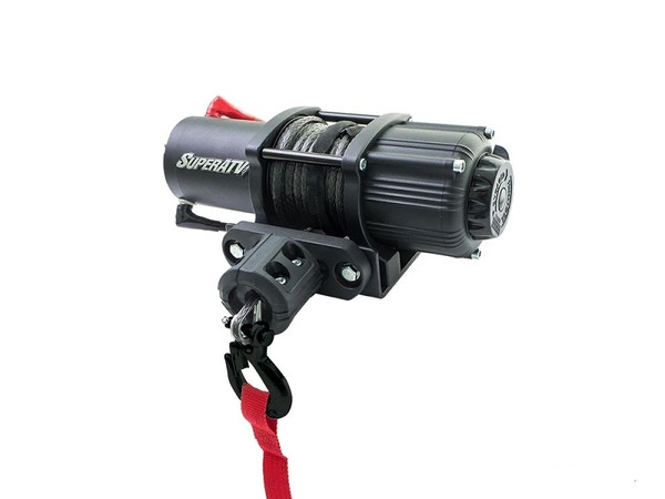 Can-Am 4500 lb. Black Synthetic Ops Rope Winch by SuperATV