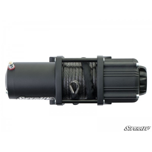 Can-Am 3500 Lb. Black Ops Synthetic Rope Winch By SuperATV