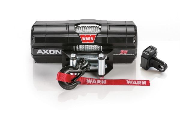Can-Am Axon 3500 lb. Powersport Winch With Wire Cable By Warn