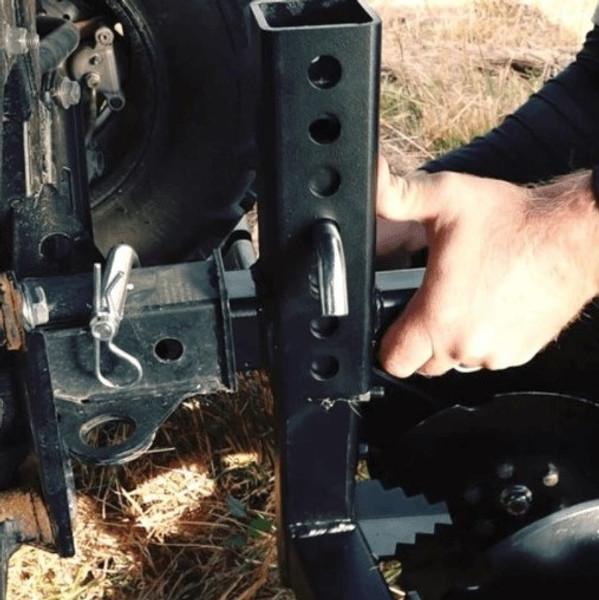 Can-Am Offroad Big Buck 8 Disc Plow By Battle Armor Designs 200-1007-18 (ECC)