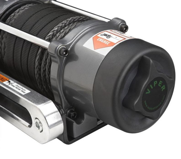 """Can Am Offroad 1/4"""" Synthetic Cable Elite 3000 lb. Winch"""