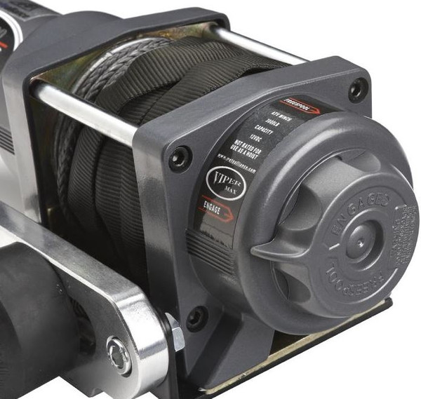 """Can Am Offroad 3/16"""" Synthetic Cable Max 3500 lb. Winch"""