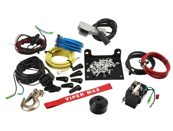 """Can Am Offroad 3/16"""" Synthetic Cable Max 4000 lb. Winch"""