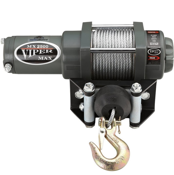 """Can-Am 1/4"""" Synthetic Cable Max 5000 lb. Winch By Viper"""