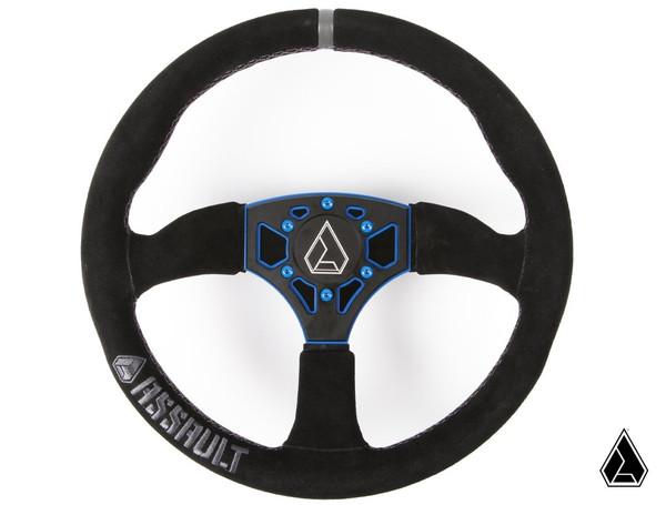 Can Am Maverick / Maverick X3 350R Suede Steering Wheel - Assault Industries