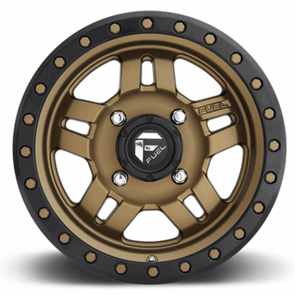 Can-Am Anza D583 Bronze Wheel Set - 14 and 15 Inch