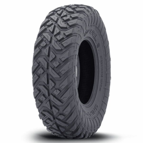 Can-Am Anza D918 Matte Gunmetal Beadlock Wheels with Fuel Gripper T / R / K Tires by Fuel Off-Road