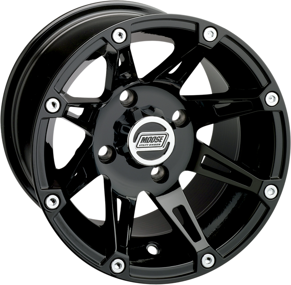 Can-Am 387B 12X8 4/136 4+4 Wheel by Moose