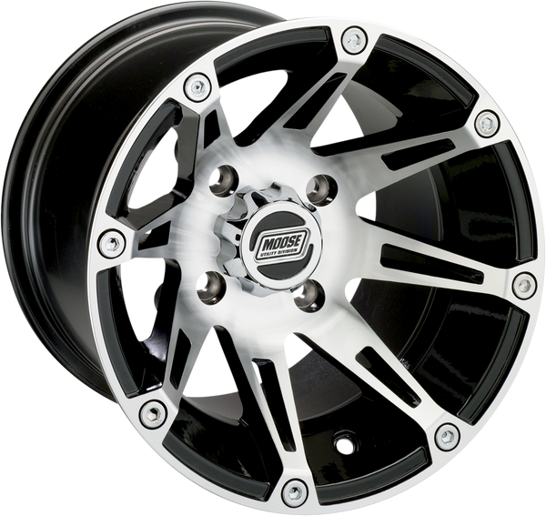 Can-Am 387M 14X7 4/136 4+3 Wheel by Moose