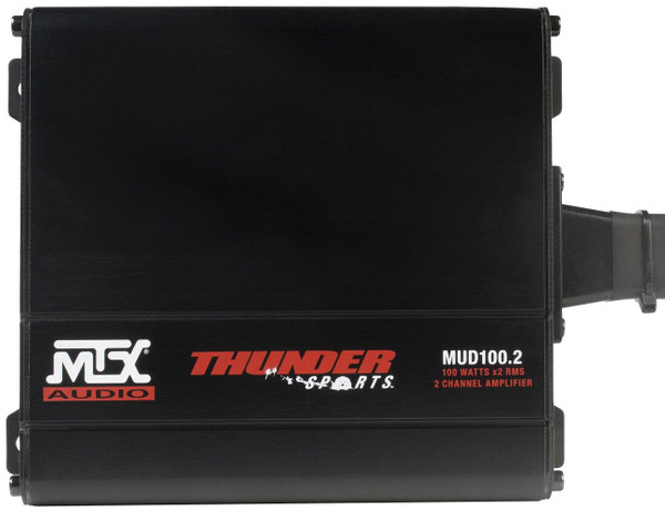 Can Am Commander 2-Channel Amplifier and 2 Roll Cage Speaker Audio Package by MTX Audio-2 Channel Amplifier and 4 Speaker Package (ECC)