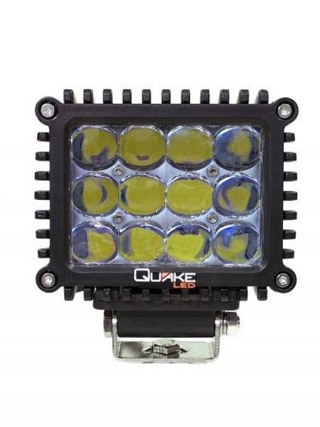 Cam Am 5 Inch 80w 4d Spot Rgb Accent Work Light By Quake LED