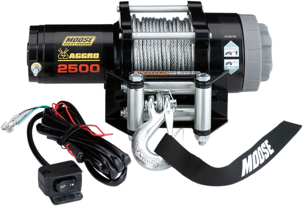 Can-Am 2500lb Winch with Wire Rope MSE by Moose