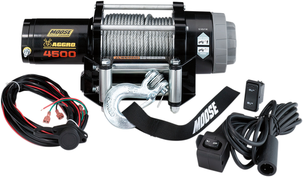 Can-Am 4500 lb Winch with Wire Rope MSE by Moose
