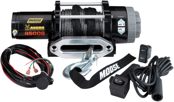 Can-Am 4500 lb Winch with Synthetic Rope MSE by Moose