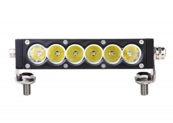 Can-Am 7 Inch Led Light Bar Single Row 30 Watt Spot Carbon Series
