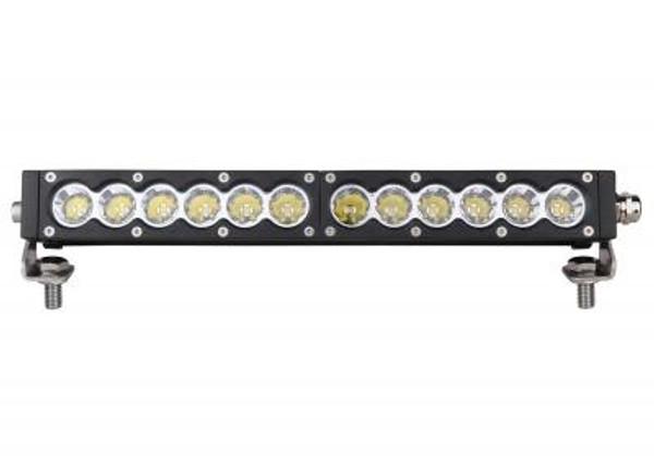 Can-Am 13 Inch Led Light Bar Single Row 60 Watt Spot Carbon Series