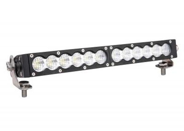 Can-Am 20 Inch Led Light Bar Single Row 90 Watt Combo Carbon Series by Quake LED