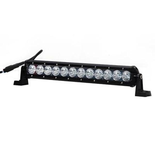 Cam-Am 14 Inch Led Light Bar Single Row 36 Watt Combo Obsidian Series