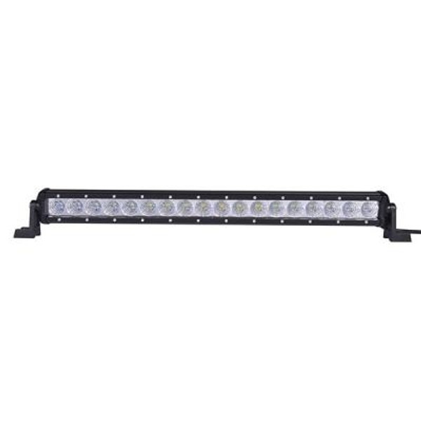 Can-Am 20 Inch LED Light Bar Single Row 54 Watt Combo Obsidian Series by Quake LED