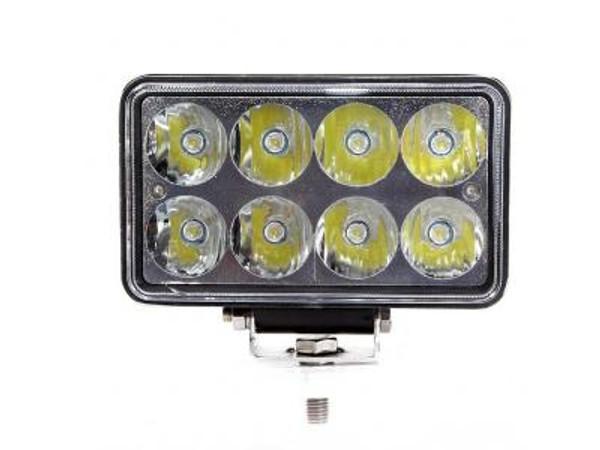Can-Am 4X7 Inch Work Light/Headlight 24 Watt High/Low Tempest Series By Quake LED