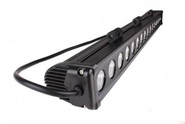 Can-Am 30 Inch Led Light Bar Single Row 160 Watt Spot Rogue Series by Quake LED
