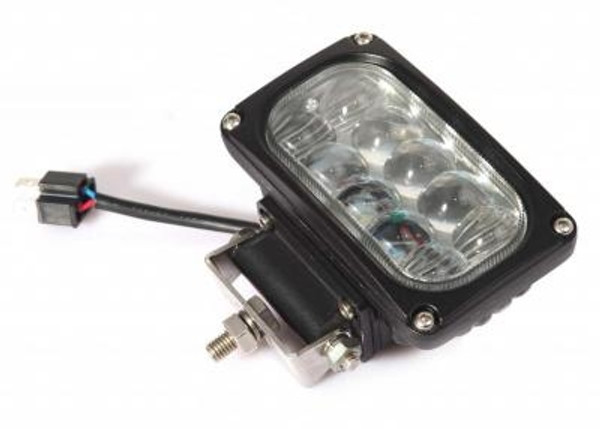 Can-Am  4 Inch Work Light/Headlight 30 Watt High/Low Tempest Series By Quake LED