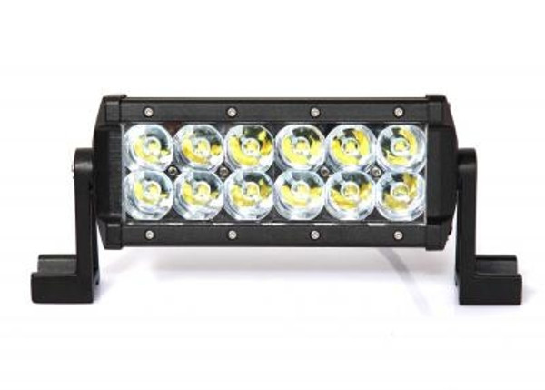 Can-Am 8 Inch LED Light Bar Dual Row 36 Watt Spot Ultra II Series