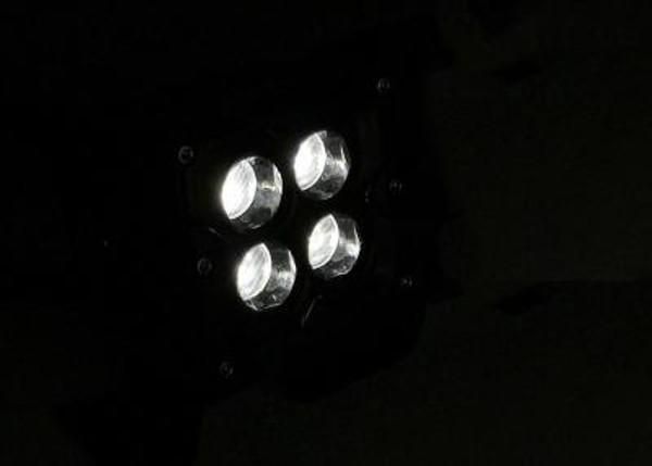 Can Am Commander 3 INCH WORK LIGHT SQUARE 40 WATT FLOOD SEISMIC SERIES