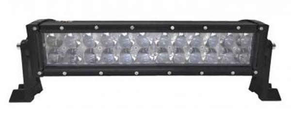 Can-Am 13.5 Inch LED RGB Light Bar Dual Row 72 Watt Combo Ultra Accent Series Quad-Lock/Interlock