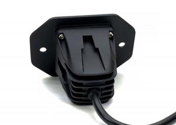 Can Am Commander 2 Inch Work Light Flush 10 Watt Flood Quantum Series
