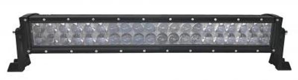 Can-Am 23 Inch LED RGB Light Bar Dual Row 120 Watt Combo Ultra Accent Series Quad-Lock/Interlock