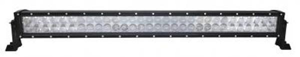 Can-Am 32 Inch LED RGB Light Bar Dual Row 180 Watt Combo Ultra Accent Series Quad-Lock/Interlock