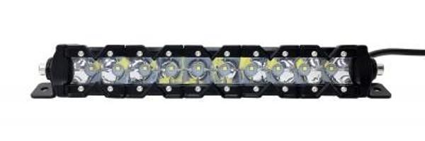 Can-Am 13 Inch LED Light Bar Single Row 50 Watt Super Spot Monolith Slim Series
