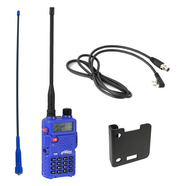Can-Am 5-Watt Dual Band (UHF/VHF) Radio Kit by Rugged Radios