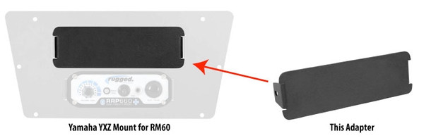Can Am Block Off Plate for RM-60 Mounts