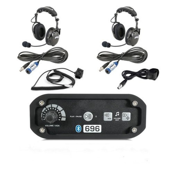 Can-Am  2-Place Intercom with AlphaBass Headsets by Rugged Radios