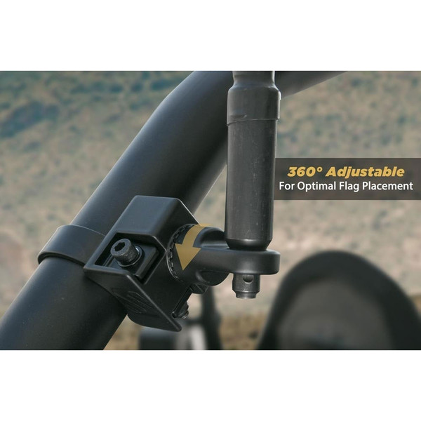 Can-Am Scosche BaseClamp™ Adjustable Whip/Flag Mount Base By Rugged Radios PSM21006