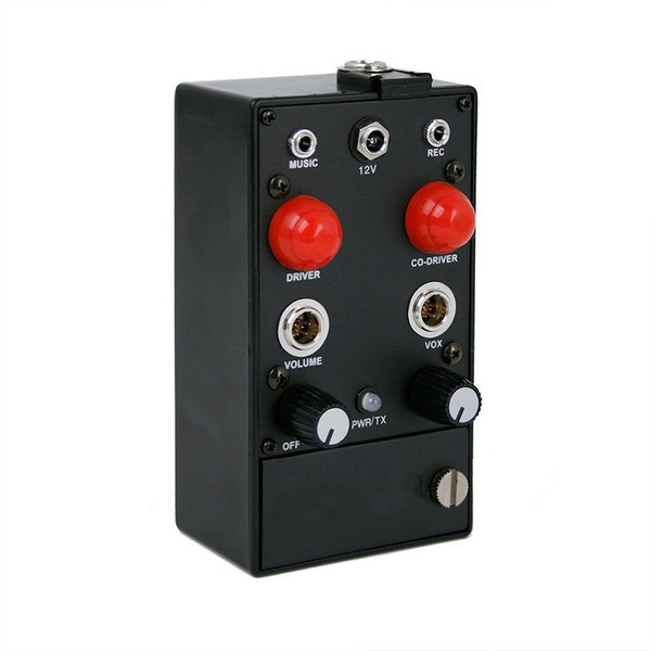 Can-Am 2-Place Portable Intercom With Music Input