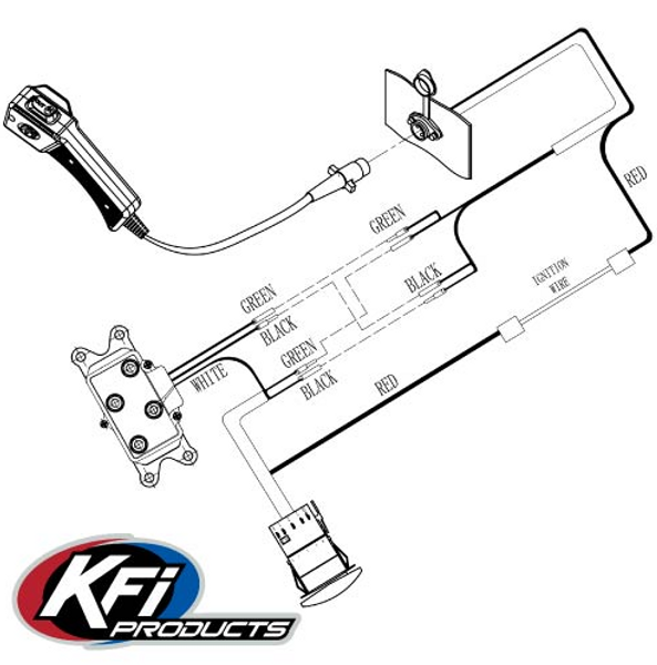 Can-Am Offroad 3500 lb Stealth Winch by KFI Products