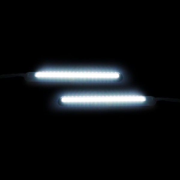 """Can Am Offroad Dynamic 4.5"""" Amber/White LED Light Bars by Custom Dynamics"""