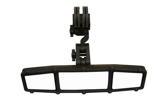 Can Am Elite Series Center Rear View Mirror With Dual Blindspot Mirrors