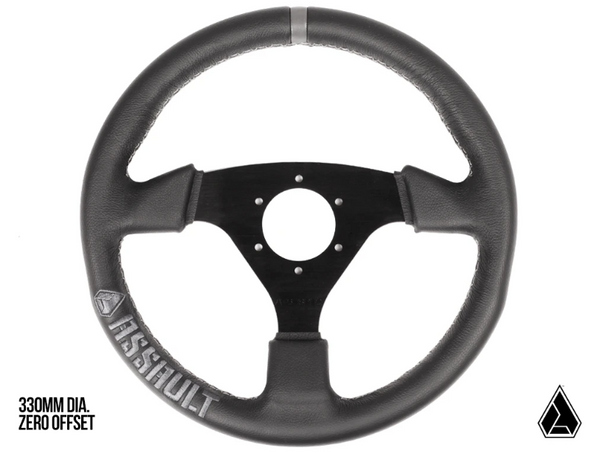 Can Am Navigator Leather Steering Wheel