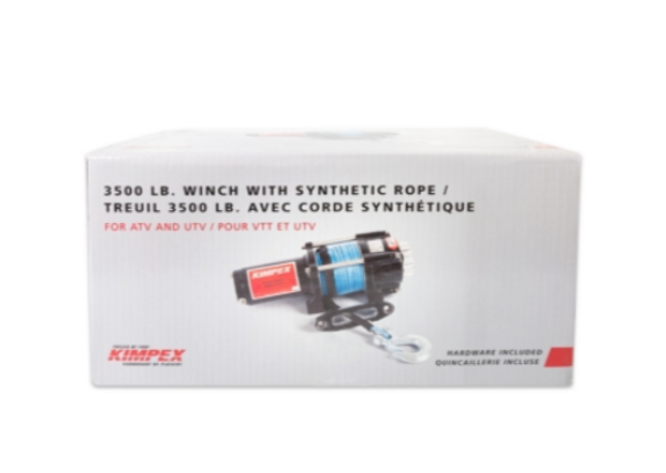 Can-Am Offroad 3500LBS Winch Kit Distance Remote by Kimpex (ECC)
