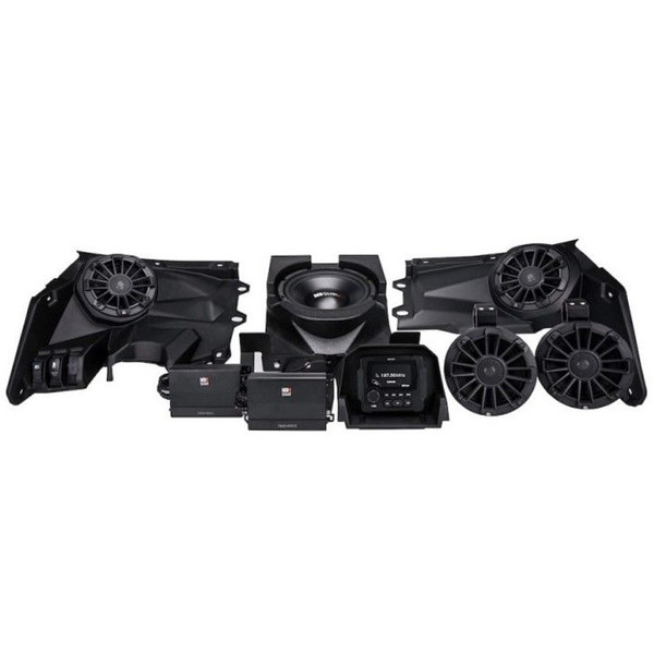 Can Am Maverick X3 Stage 5 Audio System by MB Quart