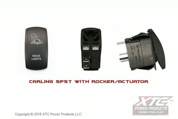 Can-Am Offroad Carling Switch with Rock Lights Actuator/Rocker