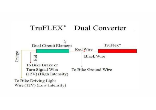Can Am Offroad Truflex LED Dual Converter by Custom Dynamics