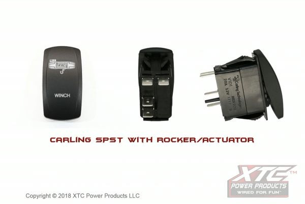 Can-Am Offroad Carling Switch with Winch Power Actuator/Rocker