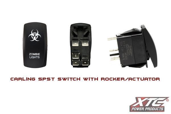 Can-Am Offroad Carling Switch with Zombie Lights Actuator/Rocker
