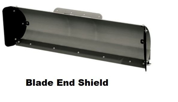Can Am Defender Straight Steel Blade Snow Plow System Open Trail