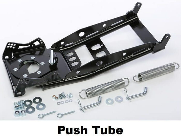 Can Am Commander Straight Pro-Poly Blade Snow Plow System Open Trail